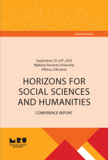 Conference Report: HORIZONS FOR SOCIAL SCIENCES AND HUMANITIES